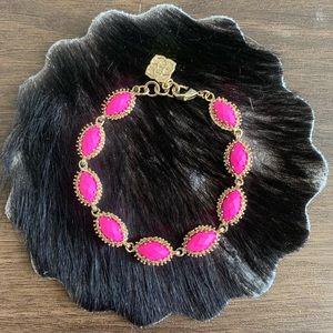 Hot pink Kendra Scott bracelet